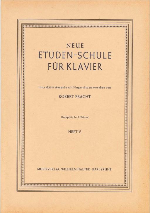 Neue Etüdenschule für Klavier - Heft 5