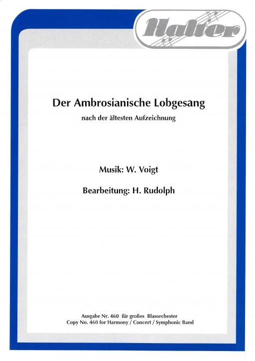 Der Ambrosianische Lobgesang - KLAVIER / DIREKTION