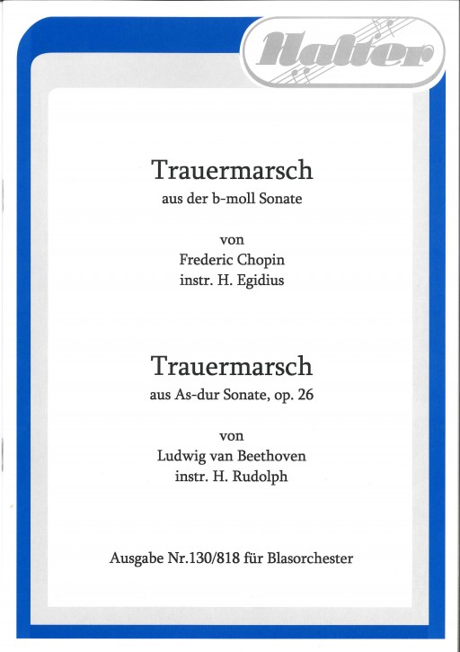 Trauermarsch (Aus der As-Dur Sonate)