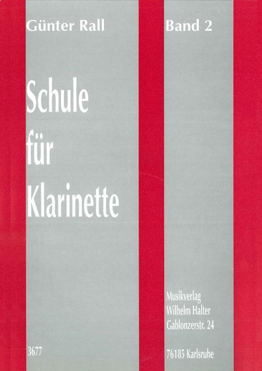 Schule für Klarinette - Band 2
