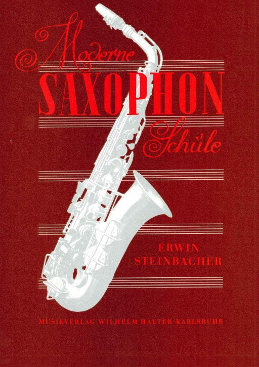 Moderne Saxophon Schule