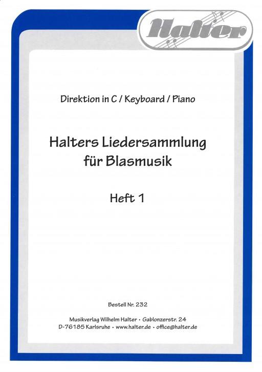 Halters Liedersammlung Heft 1