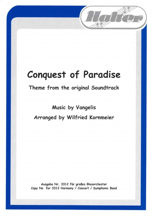 Conquest of Paradise - KLAVIER / DIREKTION