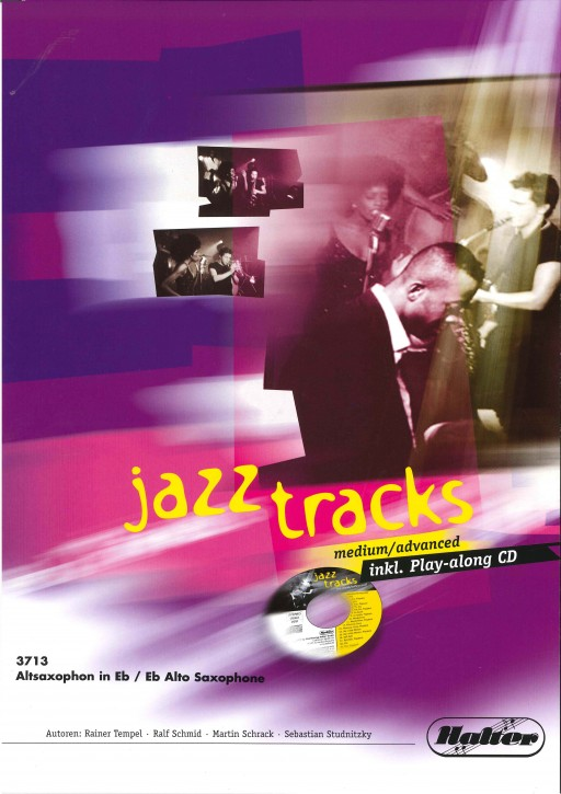 JAZZ TRACKS (medium / advanced) - Altsaxophon in Eb