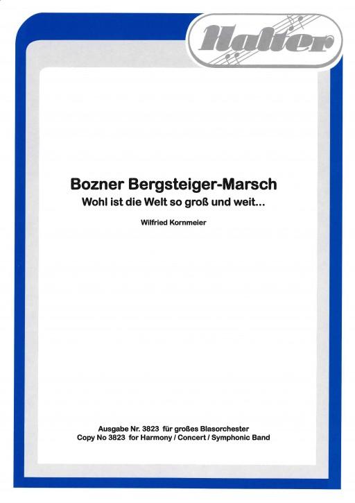 Bozner Bergsteiger Marsch - KLAVIER / DIREKTION