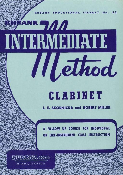 Intermediate Method for Clarinet