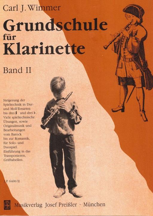 Grundschule für Klarinette - Band 2