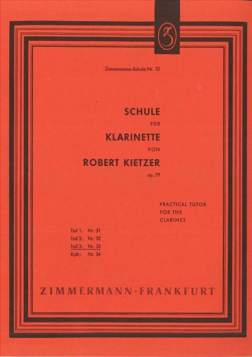 Schule für Klarinette - Teil 3