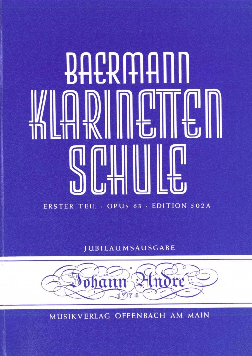 Klarinettenschule - Erster Teil / Edition 502 A
