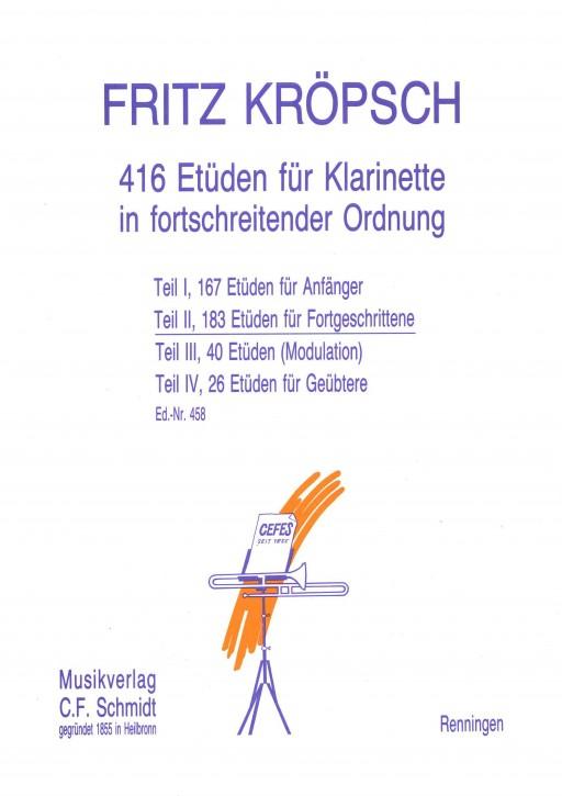 416 Etüden für Klarinette - Teil 2