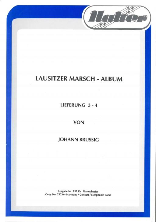Lausitzer MARSCH ALBUM <br /> LIEFERUNG 3-4