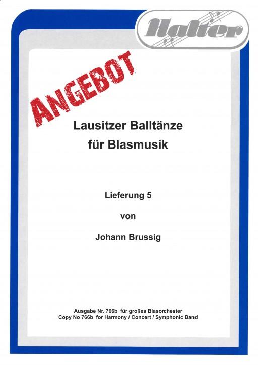 Lausitzer BALLTÄNZE - Lieferung 5