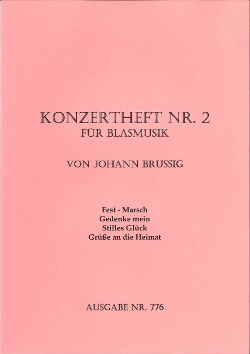 Konzertheft Nr. 2