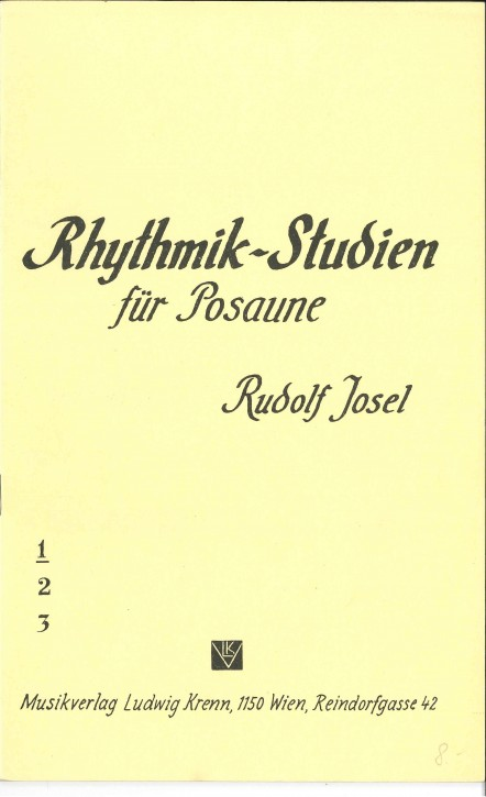 Rhythmik Studien - Heft 1