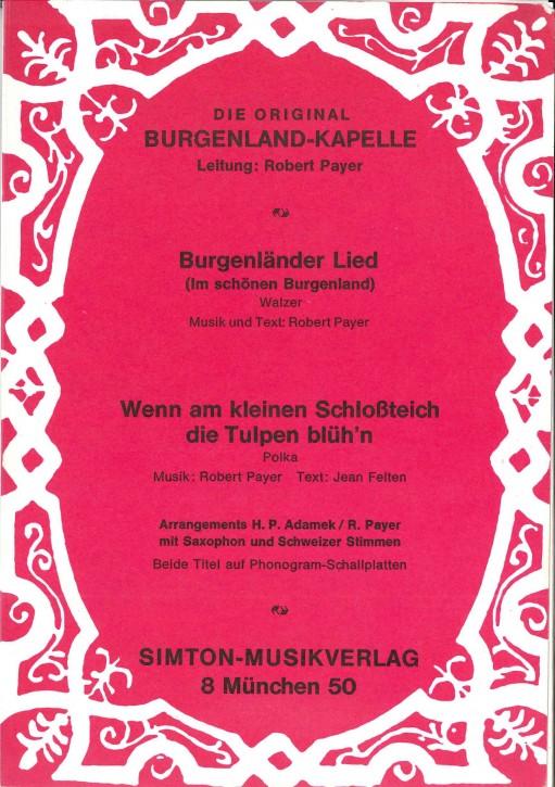 Burgenländer Lied (Im schönen Burgenland) - LAGERABVERKAUF