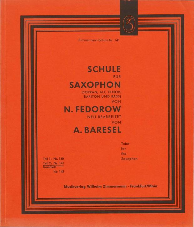Schule für Saxophon - TEIL 2