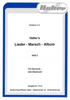 Halters - Lieder - Marsch - Album Heft 2 Direktion