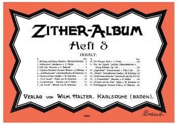 Zither Album - Heft 3