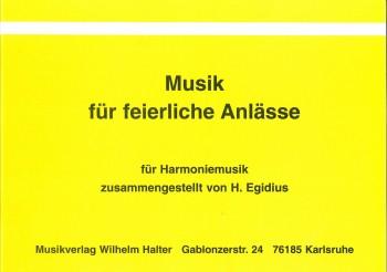 Musik für feierliche Anlässe 1. Flügelhorn in B