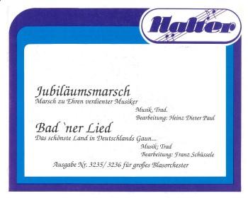 Badner Lied (Das schönste Land in Deutschlands Gaun ...)