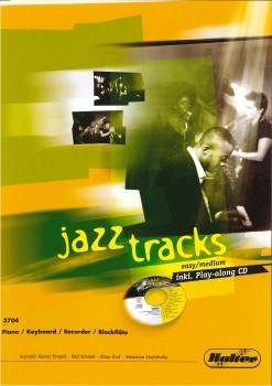 JAZZ TRACKS (easy / medium) - Piano / Keyboard