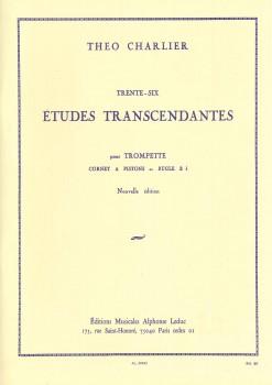 36 Études Transcendantes pour Trompete