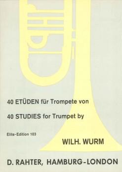 40 Etüden für Trompete