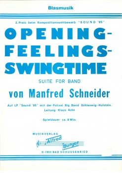 Opening Feelings Swingtime - LAGERABVERKAUF