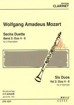 Sechs Duette für 2 Klarinetten BAND 2: Duo 4-6