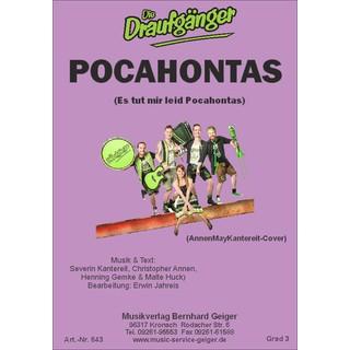 (Es tut mir leid) Pocahontas - für Kleine Blasmusik