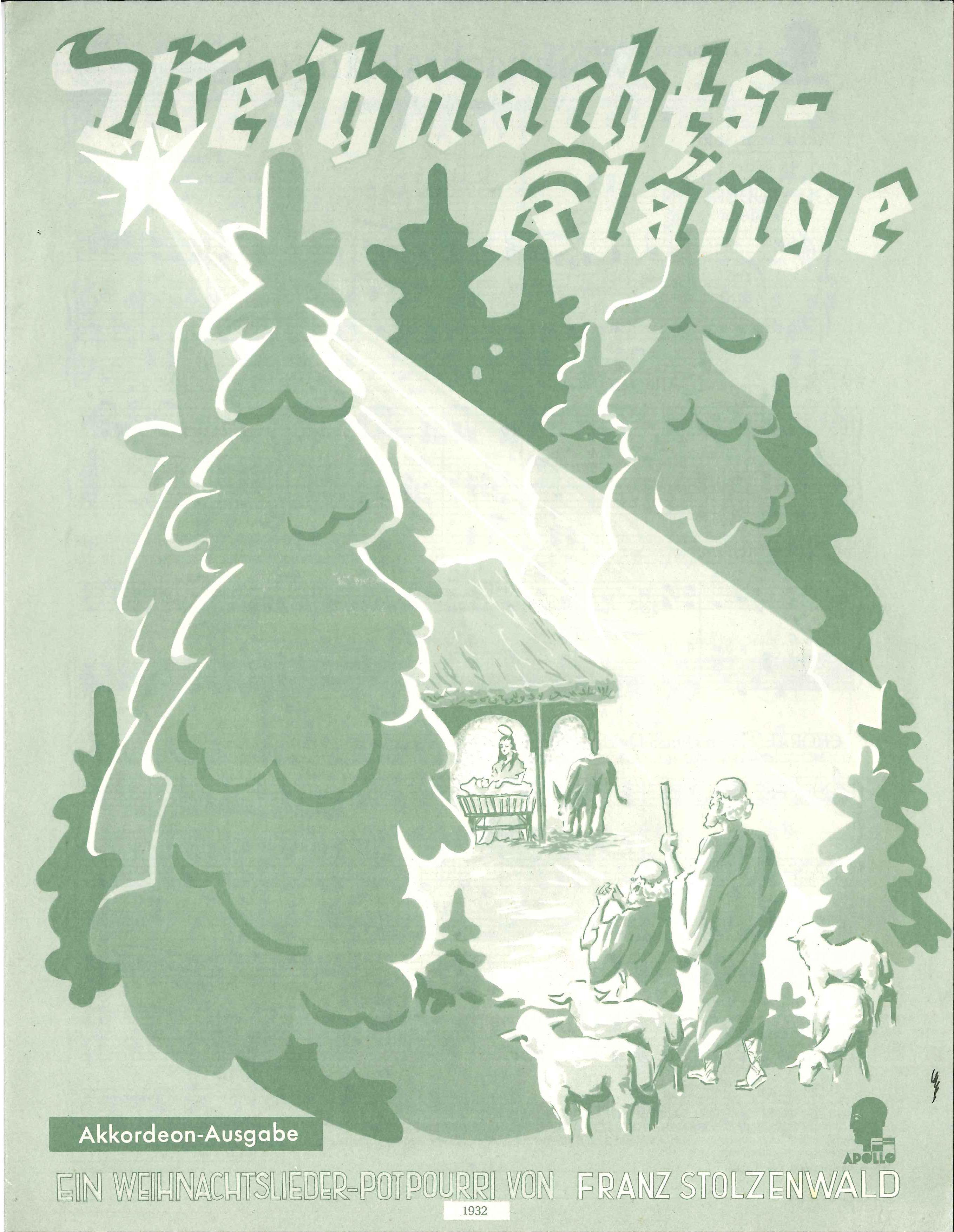 Weihnachtsklänge-Apo 1932