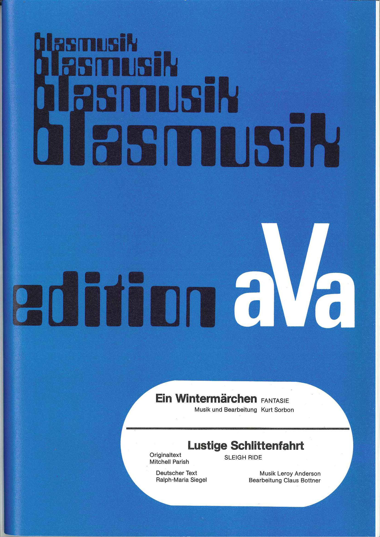 Lustige Schlittenfahrt (Sleigh Ride)-AVA 018
