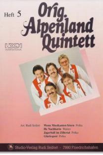 Original Alpenland Quintett - HEFT 5