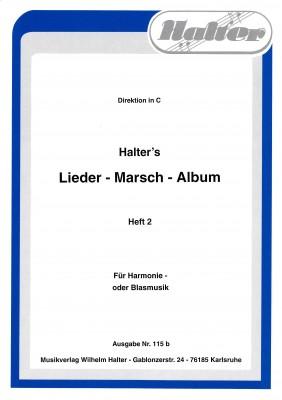 Halters - Lieder - Marsch - Album Heft 2 1. Tenorhorn in B