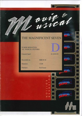The Magnificent Seven (Die glorreichen Sieben) - LAGERABVERKAUF
