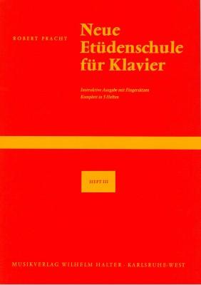 Neue Etüdenschule für Klavier - Heft 3