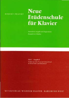 Neue Etüdenschule für Klavier - Heft 1 Ausgabe B
