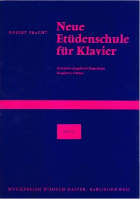 Neue Etüdenschule für Klavier - Heft 2