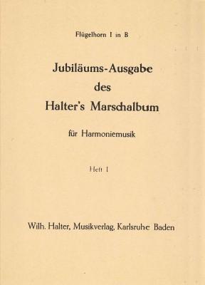 Jubiläumsausgabe Halters Marschalbum - Heft 1