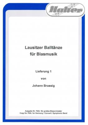 Lausitzer Balltänze Lieferung 1 Bariton in B