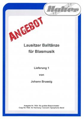 Lausitzer BALLTÄNZE - Lieferung 1