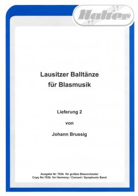Lausitzer Balltänze Lieferung 2 Direktion