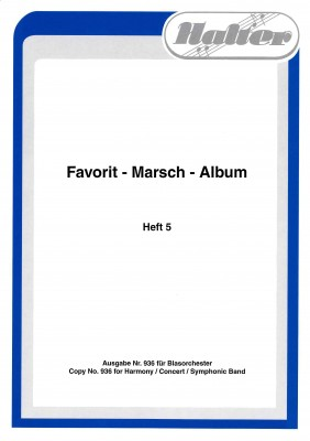 Favorit Marsch Album - HEFT 5