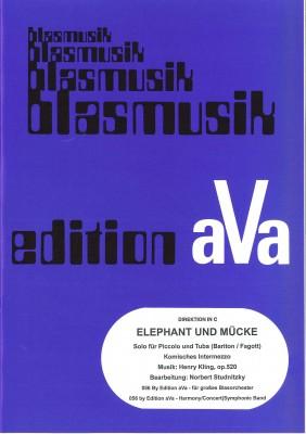 Elefant und Mücke