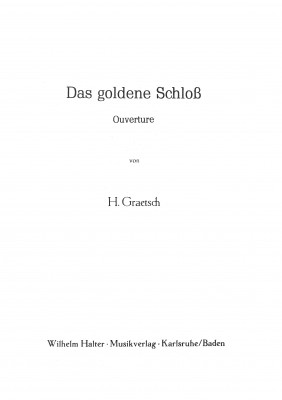 Das goldene Schloß
