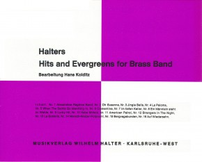 Halters Hits and Evergreens - Heft 1
