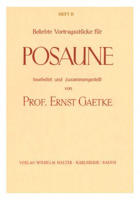 Beliebte Vortragsstücke für Posaune / HEFT 2 - Solostimme