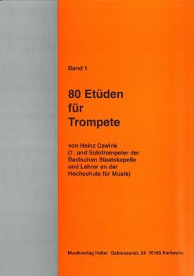 80 Etüden für Trompete - Band 1