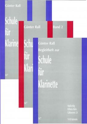 Schule für Klarinette - Komplettangebot