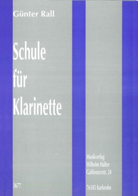 Schule für Klarinette - Band 1